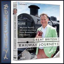 GREAT BRITISH RAILWAY JOURNEYS - COMPLETE SERIES 9  **BRAND NEW DVD***