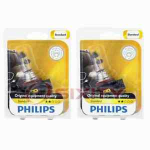 2 pc Philips Front Fog Light Bulbs for Mercedes-Benz ML320 ML350 ML500 ML55 ln