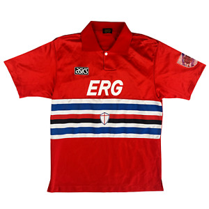 Original Sampdoria 1992/1993/1994 THIRD Football Shirt Maglia Calcio ASICS (M)