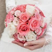 Portable DIY Bridal Handle Wedding Supply Flower Decoration Bouquet