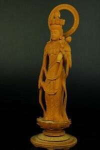 Japanese,Japan,Wooden Buddha Statue 11 Face KANNON.Bodhisattva 51cm