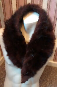 vintage REAL  MINK FUR STOLE...40 inches long