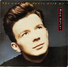 ASTLEY, Rick  (She Wants To Dance With Me)  RCA 8838-7 + Picture Sleeve