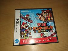 Mario VS Donkey Kong Nintendo DS import Japon