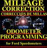 Ford Speedometer Instrument Gauge Cluster Mileage Odometer PROGRAMMING