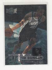 TIM DUNCAN 1997-98 Fleer Metal Universe #72 RC Rookie Spurs MINT Error Variation
