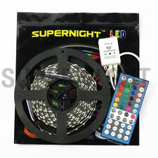 SUPERNIGHT® 5M RGBW 300 LED Strip Light 5050 Non-Waterproof + 44-Keys Controller