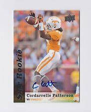 2013 Upper Deck Rookie Autographs #206 Cordarrelle Patterson SP Vikings Raiders