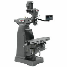 Jet 691228 Jvm 836 1 Mill With 3 Axis Newall Dp700 Dro Knee