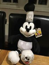 BUILD A BEAR FACTORY DISNEY 90TH ANNIVERSARY STEAMBOAT MICKEY MOUSE BNWT