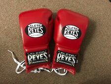 Cleto Reyes red leather 12oz Sparring gloves