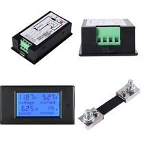 1PCS DC 6.5-100v 50A Meter Voltage Current Power Energy Combo Monitor 50A Shunt