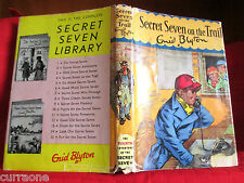 Enid Blyton SECRET SEVEN ON THE TRAIL 1965 hardcover with jacket George Brook