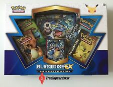 ♦Pokémon♦ Coffret ANGLAIS Blastoise EX (Tortank) - Red & Blue Collection
