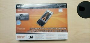 Rangebooster N, 300Mbps, Notebook Adapter DWA-642