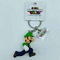 Super Mario Bros Luigi Figure Keychain Nintendo World UNIVERSAL STUDIOS JAPAN