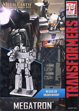 Fascinations Metal Earth Transformers Megatron 3D Laser Cut Steel DIY Model Kit