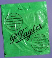 P.Taylor, Bridgewater, Taunton etc. - Hi Fi & Records - Vintage LP Carrier Bag