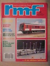 RMF n° 289/ mars 1989 La gare de VINDIEU en HO. Rotonde JOUEF électrifiée