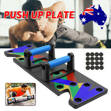 New listing 9 IN1 Push Up Board Body Building Home Gym Fitness Training Equipment Stands Kit