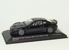 MASERATI GRANTURISMO MC gt4 2010 NERO BLACK NOIR Minichamps 400101202 1:43