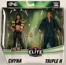 WWE Mattel Chyna / Triple H HHH DX Exclusive Elite Series Figures Two-Pack