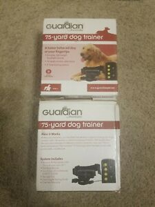 New PetSafe Guardian 75 Yard Dog Remote Trainer Collar GDT00-15223 lot of 2