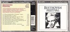 BEETHOVEN FESTIVAL - PRO ARTE CD 1988 INTERSOUND USA CDX 001