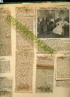 1937-1939 Scrapbook-MELVILLE Family-Denver Colorado-59 Articles-Photo+Letters