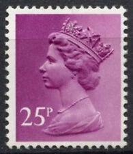 GB SG#X970, 25p Purple QEII Machin Definitive PP MNH #D3032
