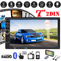 7in 2 Din Car 1080P MP5 Video Player Bluetooth Rear View Backup Monitor w/Camera