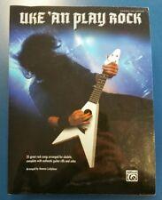 Uke 'an Play: Uke 'an Play Rock : Ukulele TAB (2008, Paperback)