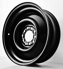 "15"" 5"" 6"" BLACK steel WHEELS CHEV FORD FALCON HOLDEN DUEL RALLY CHEVY HQ HZ XB"