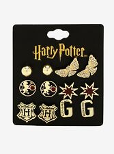 Harry Potter Gryffindor 6 Pair Earring Set