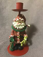 Santa Christmas Candle Holder