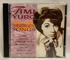 Timi Yuro - 18 Heartbreaking Songs CD Oct-1999