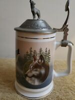 Call of the Wild Stein Tankard Collection Longton Crown Kevin Daniel