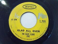 The Dave Clark Five Glad All Over / I Know You 45 1963 Epic Vinyl Record