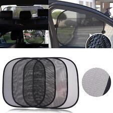 5Pcs/set Side Rear Window Mesh Sunshade Sun Shade Cover for Car UV Protection
