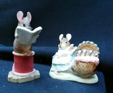 The World of Beatrix Potter Hunca Munca Tailor of Gloucester Small Figurines