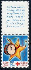 TIMBRE FRANCE NEUF N 3288a ** AVEC VIGNETTE / CROIX ROUGE / ISSUS DE CARNET