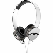 Sol Republic On Ear Headphones Tracks HD V10 White And Silver Modular