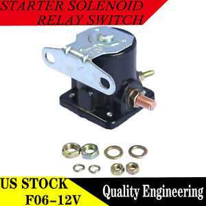 New Starter Car Truck Solenoid Relay For Ford 12V Heavyduty Sw3