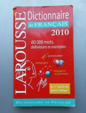 Larousse French French Dictionary: by Larousse Paperback (2010) original copy