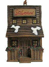 A+Saloon Hanging Ornament  Big Sky Carvers  Montana Silversmiths New .-0 +3-+
