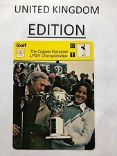 NANCY LOPEZ 1979 Sportscaster card #13 064 81-21 (From U.K.) UNITED KINGDOM