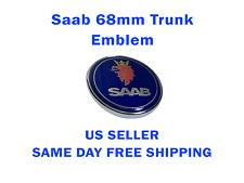 "Saab 9-3 9-5 Rear Trunk Emblem Badge 68mm 2.625"" 1278587 US SELLER FREE SHIPPING"