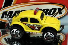 2001 Matchbox #31 SAND BLASTERS Volkswagen Beetle 4x4