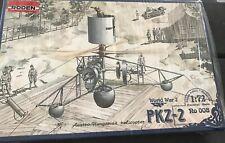 RODEN 1/72 ~ PKZ - 2 ~ model kit No 008 -WWI