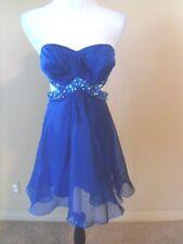 NWOT LaFemme cocktail dress, Blue, size 2